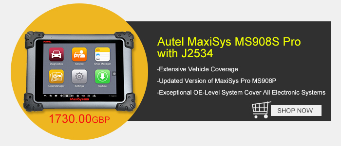 Original Autel MaxiSys MS908S Pro with J2534 ECU Box Automotive Diagnostic Tool Updated Version of MaxiSys Pro MS908P
