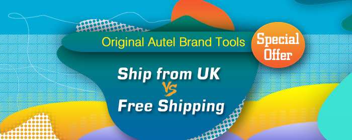 Original Autel Brand Tools, Special Offer, Ship from UK VS Free Shipping