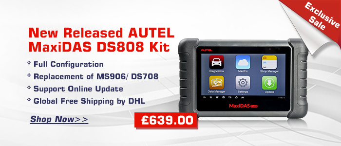 New Released AUTEL MaxiDAS DS808 Kit Exclusive Sale