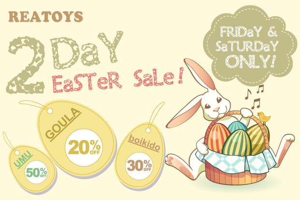 REATOYS-2DAY EASTER SALE